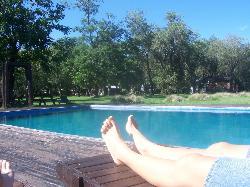 piscina muy grande