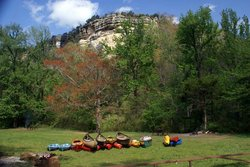 Buffalo National River Kyle's Landing Campground