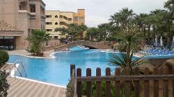 vista de piscina exterior