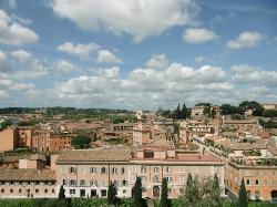 Hotel from Palatine hill