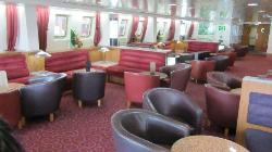 P&O Pride of Calais Club Lounge
