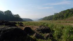 One of many great views observed on a three hour trekking tour in Periyar Wildlife Reserve.