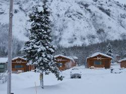 Sheep Mountain Lodge cabins