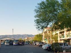 Virgin River Hotel & Casino.- Les  parkings