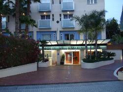 Front view of Villa Marina Hotel
