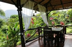 View from dinning area