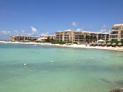 view of the resort from afar