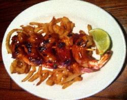 Crazy Crab's Famous Bacon Wrapped BBQ Shrimp