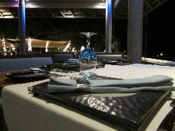 ambiance- table set up