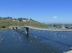 ‪Lake Hodges Pedestrian Suspension Bridge‬