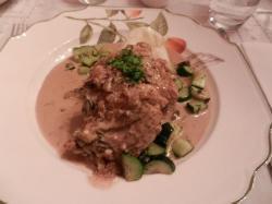 Chicken with Porcine Mushroom sauce