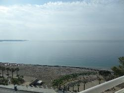 Panoramic Sea side view from my balcony