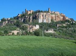 Blick auf Orvieto