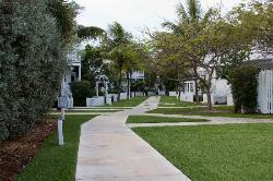 Walkway to our beachfront unit
