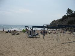 Small beach near Cala Font Hotel