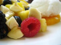 Fresh Fruit with Lycee Sorbet