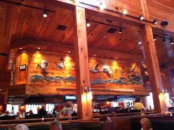 The bar area - nice design