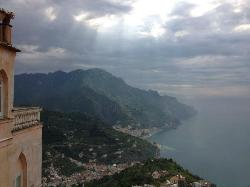 Room With A View:  Sunrise Over Palazzo Sasso