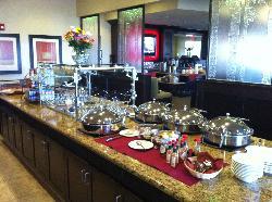 Breakfast buffet in Juno