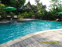 Pool området