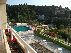 View from balcony/pool area