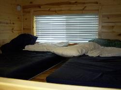 upper sleeping quarters for the kids (loft)