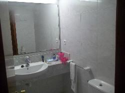 bathroom and good shower