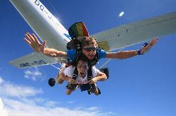 斐濟跳傘之旅