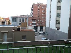 Vistas desde la terraza (parte trasera) parking posterior.