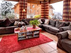 sunny lounge with comfy sofas