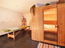 sauna and massage room