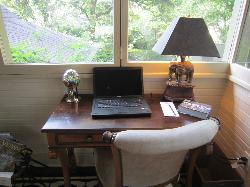 A desk to inspire writers