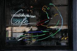 Schwarzes Cafe