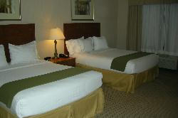 The beds were clean and comfortable.