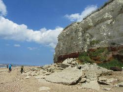 Old Hunstanton Cliffs