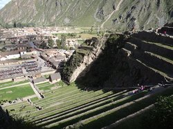 ‪Archaeological Park Ollantaytambo‬
