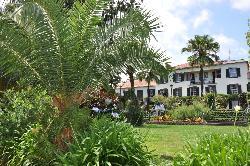 Garden view of hotel