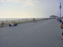 a big boardwalk