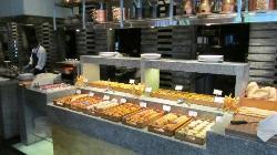 Bread station at Spice Kitchen
