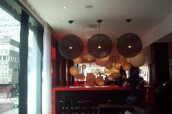 veiw from bar