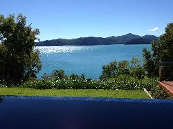 View as you enter qualia reception & lounge