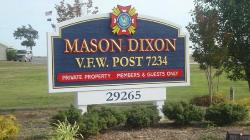 Restaurant at VFW Mason Dixon Post 7234