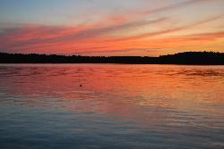 Beautiful sunset - Whitefish Lake