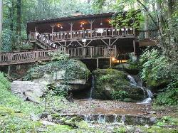 Waterfall Cabin in Gatlinburg, TN