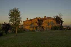 Sunrise at Podere Salicotto