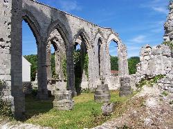 Ruines de l'Église d'Ablain-Saint-Nazaire