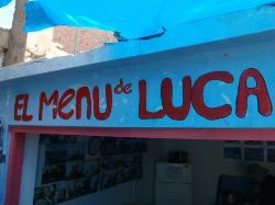 El Menu de Luca