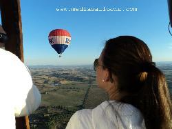 Mediaballoons Ballooning in Tuscany
