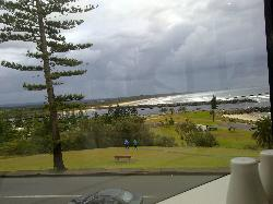 View from my dinning room table
