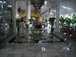 Le hall de l'hôtel ...Fabuleux!